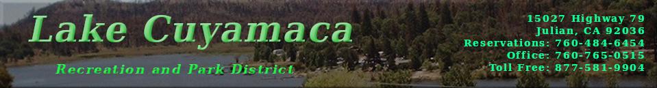 Image gallery lake cuyamaca for Lake cuyamaca fishing